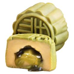 Bánh Trung Thu Lava vị trà xanh TAITHONG MOONCAKE