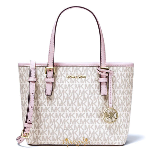 Túi Xách Nữ Michael Kors Jet Set Travel Extra-Small Logo Top-Zip Tote Bag