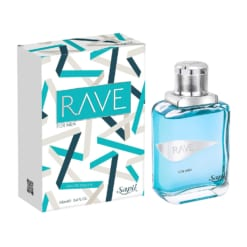 SAPIL RAVE MEN PERFUME EAU DE TOILETTE 3.4FL.OZ 100ML
