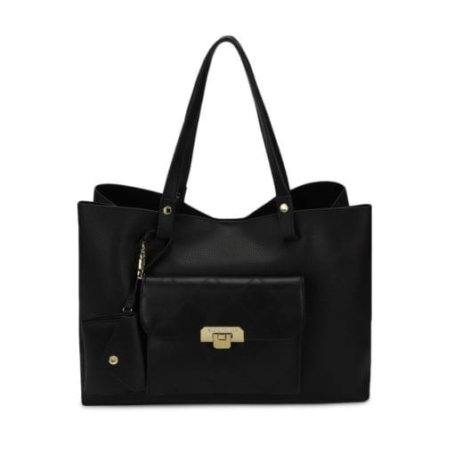 Túi xách nữ Steve Madden Shoulder Bag Bcarter Purse Wallet (Đen)