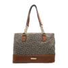 Túi xách nữ Tommy Hilfiger Women's Shopper Shoulder Bag (Nâu)